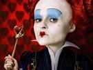 Z filmu Alenka v říši divů - Helena Bonham Carterová v roli Srdcové královny