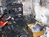 Při požáru bytu v domě na Spolkové ulici v Brně zemřeli tři lidé, kteří se nadýchali zplodin
