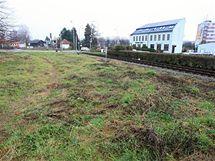 Pozemek v Boskovicích, kterého se kraj zbavuje