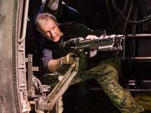 Režisér James Cameron při natáčení sci-fi Avatar
