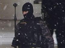 Přepadení pobočky Komerční banky na Novodvorské ulici v Praze. (16. prosince 2009)