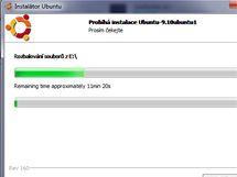 Wubi instalace Ubuntu přímo z Windows
