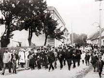 Oslava hasičů v roce 1923