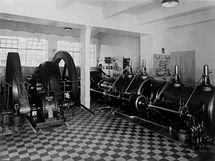 Na svou dobu byla továrna vybavena nejlepšími parními stroji