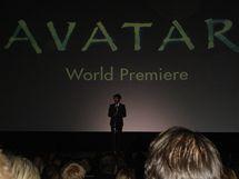 V londýnském kině Odeon na premiéře filmu Avatar - objektivem autorky