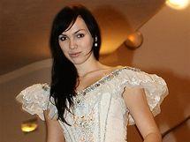 Kamila Nývltová v kostýmu Angeliky