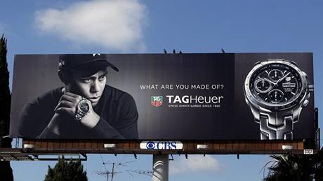 Tiger Woods v reklamě.