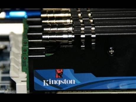 Ústě sofistikovaného vodního chlazení Kingston
