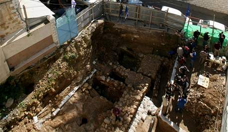 Vědci objevili v Nazaretu dům z doby Ježíše Krista