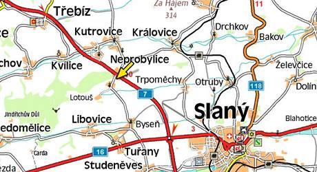 Lotouš na Kladensku.