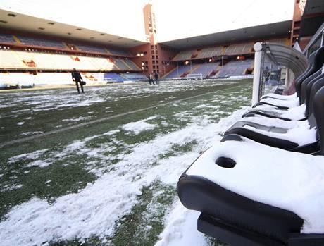 Janov: zrušený zápas kvůli sněhu