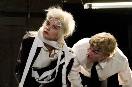 Divadlo Na zábradlí: A tančit! Gabriela Pyšná a Ladislav Hampl