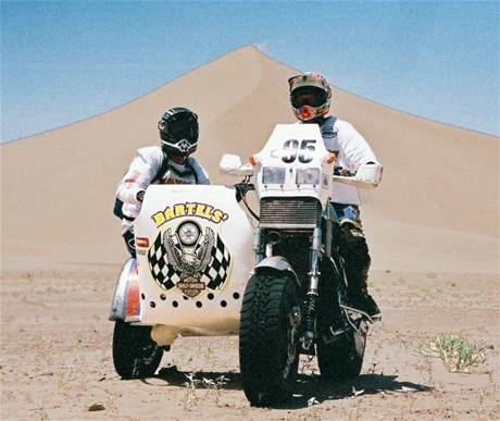 Harley-Davidson pro rallye Dakar