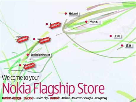 Nokia zavírá značkové obchody
