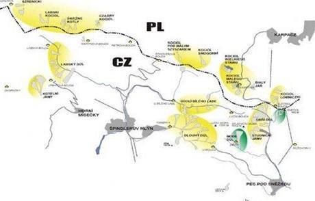 Lavinová mapa