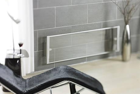 Skleněný sálavý panel