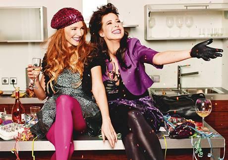 Večírková móda s Karin a Lenkou