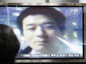 Americký misionář Rober Park ve vysílání jihokorejské televize (26. prosince 2009)