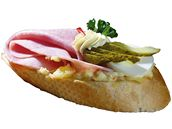 Šunkový chlebíček