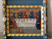 Restaurování ikon dřevěného kostelíku v Blansku