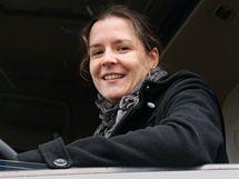 Marie Horneková, řidička kamionu