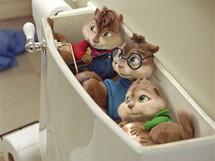 Z filmu Alvin a Chipmunkové 2