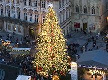 Anketa o nejkrásnější vánoční strom v republice - Praha