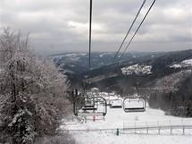 Slovensko, sedačka na Velkou Raču