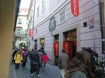 Muzeum sexu v Praze v Melantrichově ulici nedaleko Staroměstského náměstí