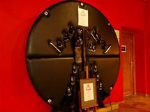 Muzeum sexu v Praze. Ze zařízení moderních S/M salonů,  klienti se musejí otáčet