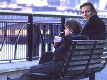 Z natáčení filmu Láska nebeská - L.Neeson na South Bank