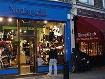 Lokace k filmu Notting Hill - Willovo knihkupectví už na adrese 142 Portobello Road nenajdete