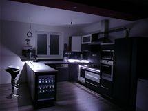 Kuchyně jako šachovnice