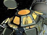 Observatoř Cupola, která se v roce 2009 stane součástí ISS