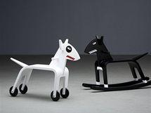 Bojové plemeno? Ne, domácí hračka a bytoivý doplněk od designéra Jana Čapka