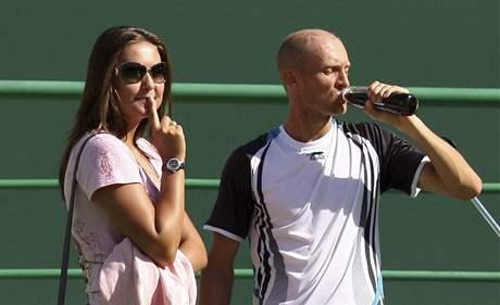 Nikolaj Davyděnko s manželkou Irinou
