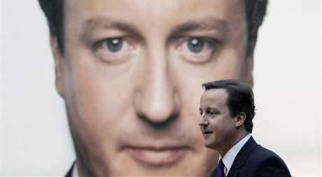 David Cameron při zahajování předvolební kampaně toryů (4. ledna 2010)