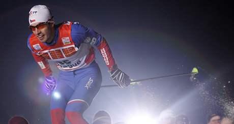 Martin Koukal při Tour de Ski v Praze