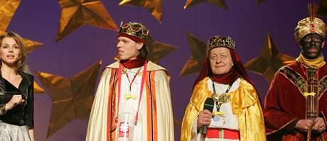 Koncert pro Tříkrálovou sbírku v Městském divadle Brno.