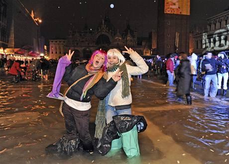 V Itálii byly oslavy bouřlivé a veselé.