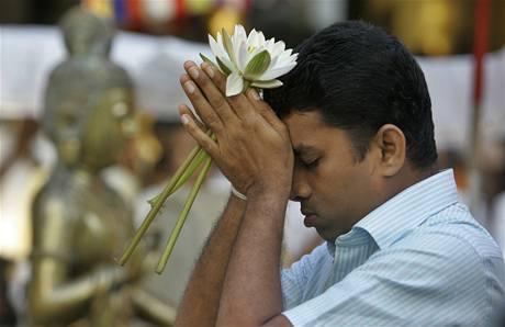 Budhistické pojetí oslav nového roku na Srí Lance