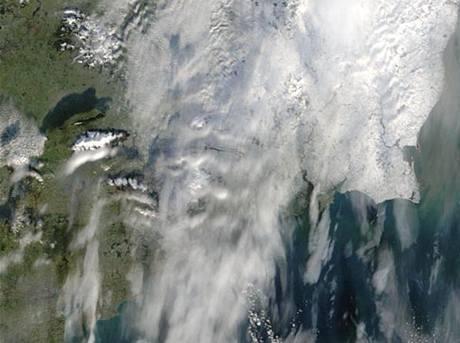 Irsko ze satelitu