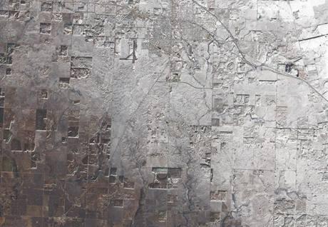 Texas ze satelitu