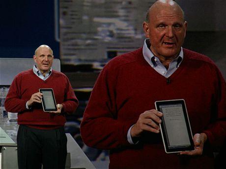 CES 2010 - Steve Ballmer představuje tablet HP