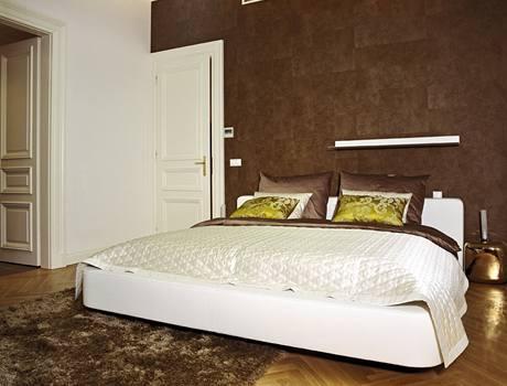 Ložnice s prvky glamour