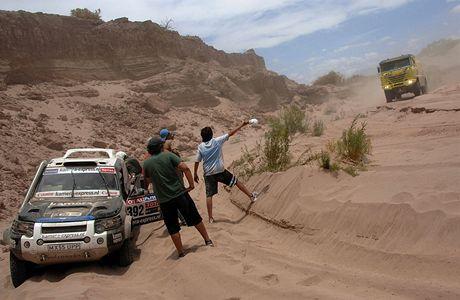 Rallye Dakar, 3. etapa La Rioja - Fiambala