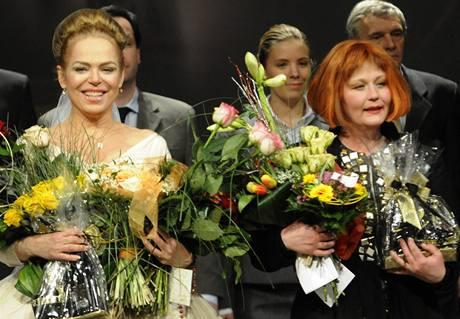 Dagmar Havlová a Lucie Juřičková