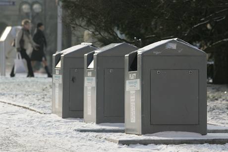 Podzemní kontejnery na odpad v centru Hradce Králové