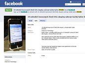 Facebooková skupina před změnou.