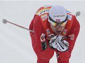 Petter Northug během sprintu Tour de Ski v německém Oberhofu